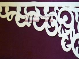 Фото-47. Ажурный элемент для ламбрекена в проекте Третьяковой Елены - мастера по шторам из Нижнего Новгорода. Фото перед отправкой в транспортную компанию.