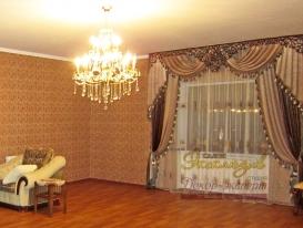 Фото-22. Проекты декорирования интерьера в восточном стиле от салона Эксклюзив из Казахстана с ажурными ламбрекенами от нашей студии.