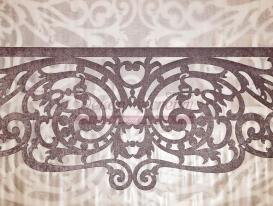"""Фото-114. Ажурный ламбрекен """"Верона"""", центральная часть.  Авторский дизайн Светланы Никитиной, Студия Декор-эксперт, Тольятти."""