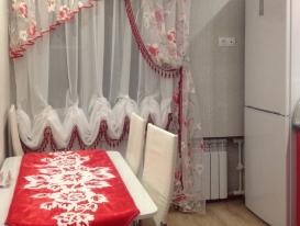 Фото-42. Выполненный проект декорирования кухни от Елены Третьяковой с нашим узором на рушнике у заказчиков в Нижнем Новгороде. Гармонично и ярко! Мне понравилось.