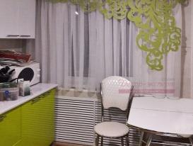 Ажур зелёного цвета в интерьере кухни нашей  онлайн заказчицы.
