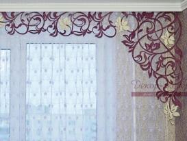 "Фото-192. Ажурный ламбрекен ""Валенсия"" в интерьере квартиры Вероники. Мегион ХМАО."