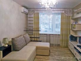 """Фото-177. Ажурный ламбрекен """"Версаче"""" в интерьере гостиной Натальи из Дальнереченска."""