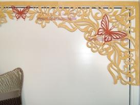 Фото-40. Моя новая разработка - дизайн многоцветного ажурного ламбрекена для штор в детскую комнату. Возможен вариант до четырёх цветов на одном комплекте.