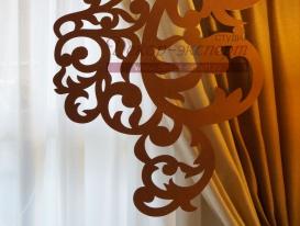 Фото-9. Элемент ажурного ламбрекена.