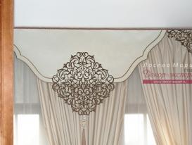 Фото-95. Фрагмент штор. Лосева Мария, Санкт-Петербург.