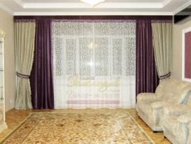 Фото-65. Общий вид проекта декорирования интерьера от салона Эксклюзив из Казахстана.