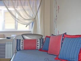 Фото-08. Декоративные подушки в детской комнате для мальчика.