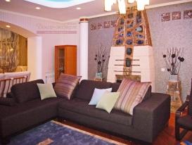 Декоративные подушки для гостиной  в этническом стиле.