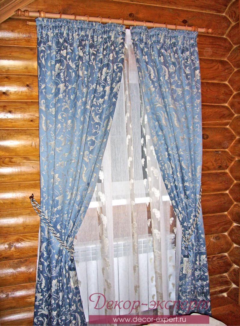 Деревенские шторы не как у всех