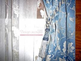 Фото-24. Декоративная кисть в качестве подхвата штор.