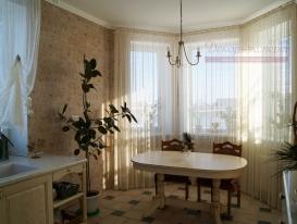 Фото-31. Шторы для столовой загородного дома.