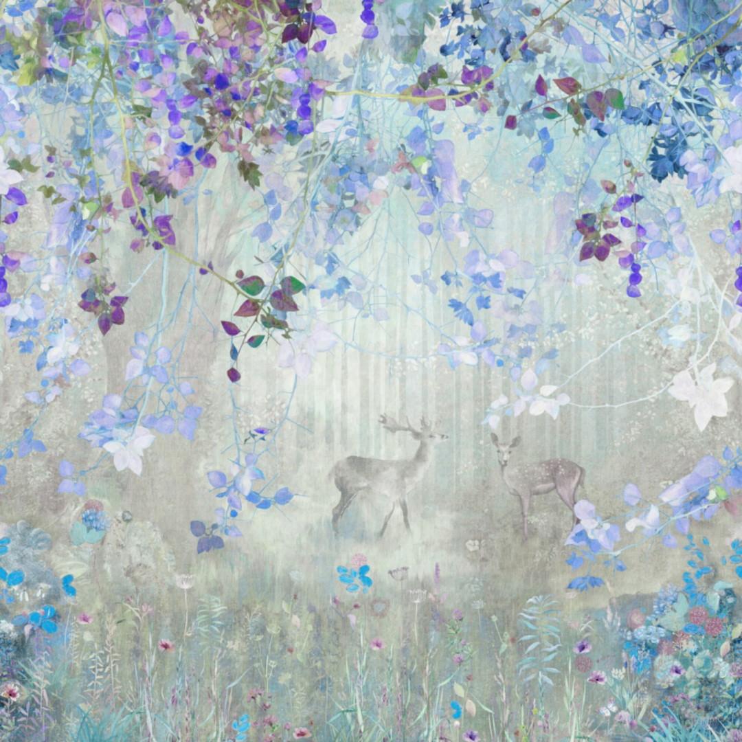 Общий вид фрески из коллекции Dream Forest бренда Affresco.