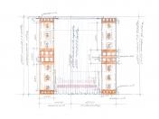Эскиз-2. Проект японских штор для кухни.