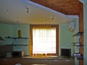 Фото-21. Римская штора для кухни.