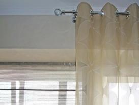 Фото-61. Фрагмент шторы на кухню.