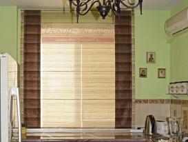 Фото-68. Римская штора для кухни в квартиру в Тольятти.