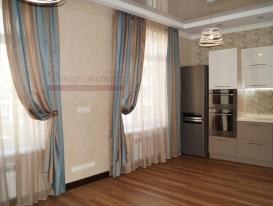 Фото-91. Современные шторы для кухни.