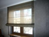 Фото-16. Римские шторы, шторы для кабинета.