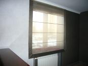 Фото-14. Римские шторы, шторы для домашнего кабинета.
