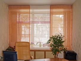Фото-35. Римские шторы в офисе.