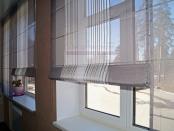 Фото-43. Римские шторы в офис - фрагмент.