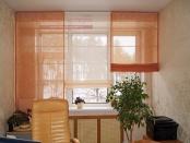 Фото-36. Римские шторы в офис.