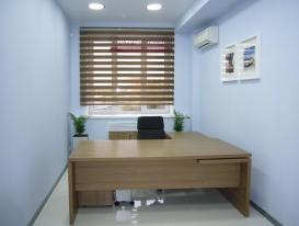 Фото-54. Рулонные шторы зебра для офиса.