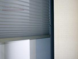 Фото-45. Жалюзи плиссе в офисе - фрагмент.