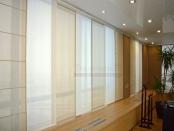 Фото-33. Японские шторы в кабинете первого руководителя.
