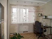 Фото-38. Японские шторы в домашний кабинет.