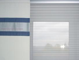 Фото-58. Японские шторы в офисе - фрагмент.