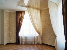 Фото-97. Балдахин для спални в открытом состоянии с другого ракурса.