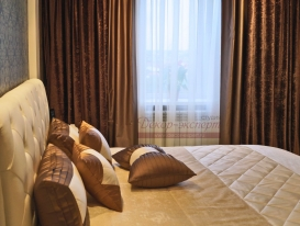 Фото-91. Покрывало и декоративные подушки для спальни в Сызрани.