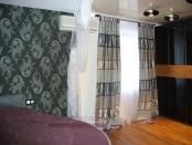 Фото-24. Современные шторы из ткани Nya Nordiska в спальню.