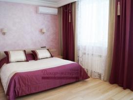 Фото-80. Шторы для спальни. Тольятти.