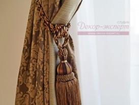 Декоративная кисть для классических штор с кантом.