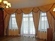 Фото-20. Шторы в классическом стиле для зала. Тольятти.