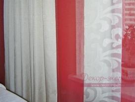 Фото-33. Фрагмент белых штор.