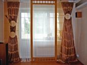 Фото-39. Шторы в современномстиле для гостиной.