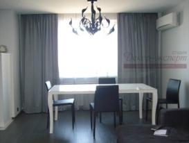 Фото-67. Современные шторы в гостиной.