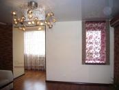 Фото-73. Вид на римскую штору из гостиной.