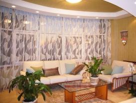 Фото-75. Лёгкая штора для гостиной в этническом стиле. Тольятти.