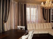 Фото-78. Шторы для гостиной в Тольятти.