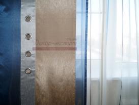Фото-76. Фрагмент японской шторы в комнате малчика подростка.