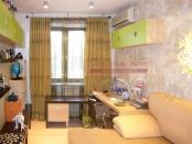Фото-17. Фото-19. Стильные оливковые шторы в комнате мальчика.