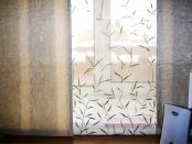 Фото-22. Японские шторы в детскую комнату. Фрагмент.