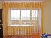 Фото-26. Шторы на оригинальных петлях для детской комнаты.
