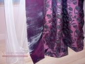 Фото-31. Тюль и портьерная ткань штор в детскую комнату.