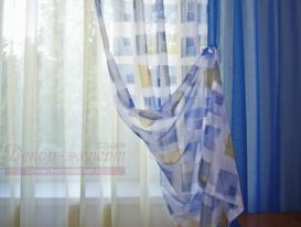 Фото-41. Фрагмент штор в детскую комнату для мальчика.